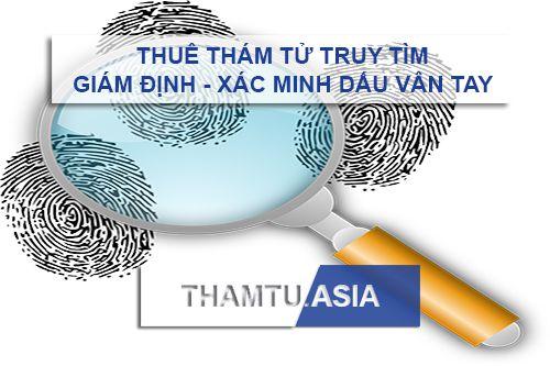 dịch vụ thám tử giám định vân tay - thuê công ty thám tử truy tìm dấu vân tay - chữ ký