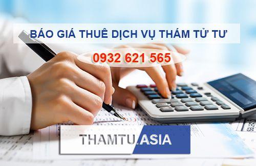 Gía thuê công ty thám tử, dịch vụ thám tử, thám tử tư uy tín tại Hà Nội